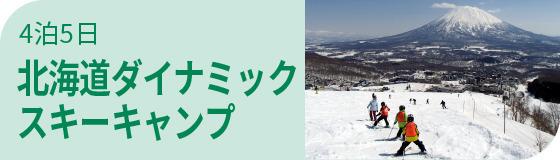 北海道ダイナミックスキーキャンプ
