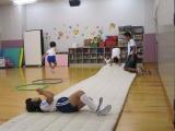 A-2ちびっこ体操教室の1場面(中央YMCA)
