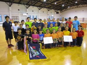 YMCA体操チーム(於:中央YMCA)