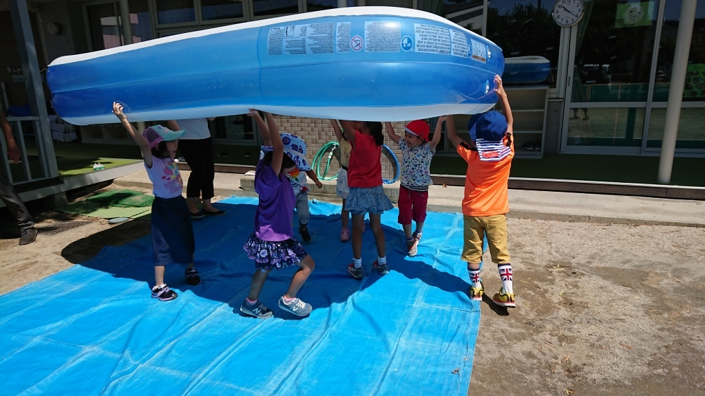 preparing for water play