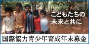 国際協力青少年育成年末募金