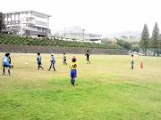 サッカー練習の様子