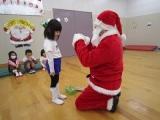 クリスマスウィークのキッズ体操教室